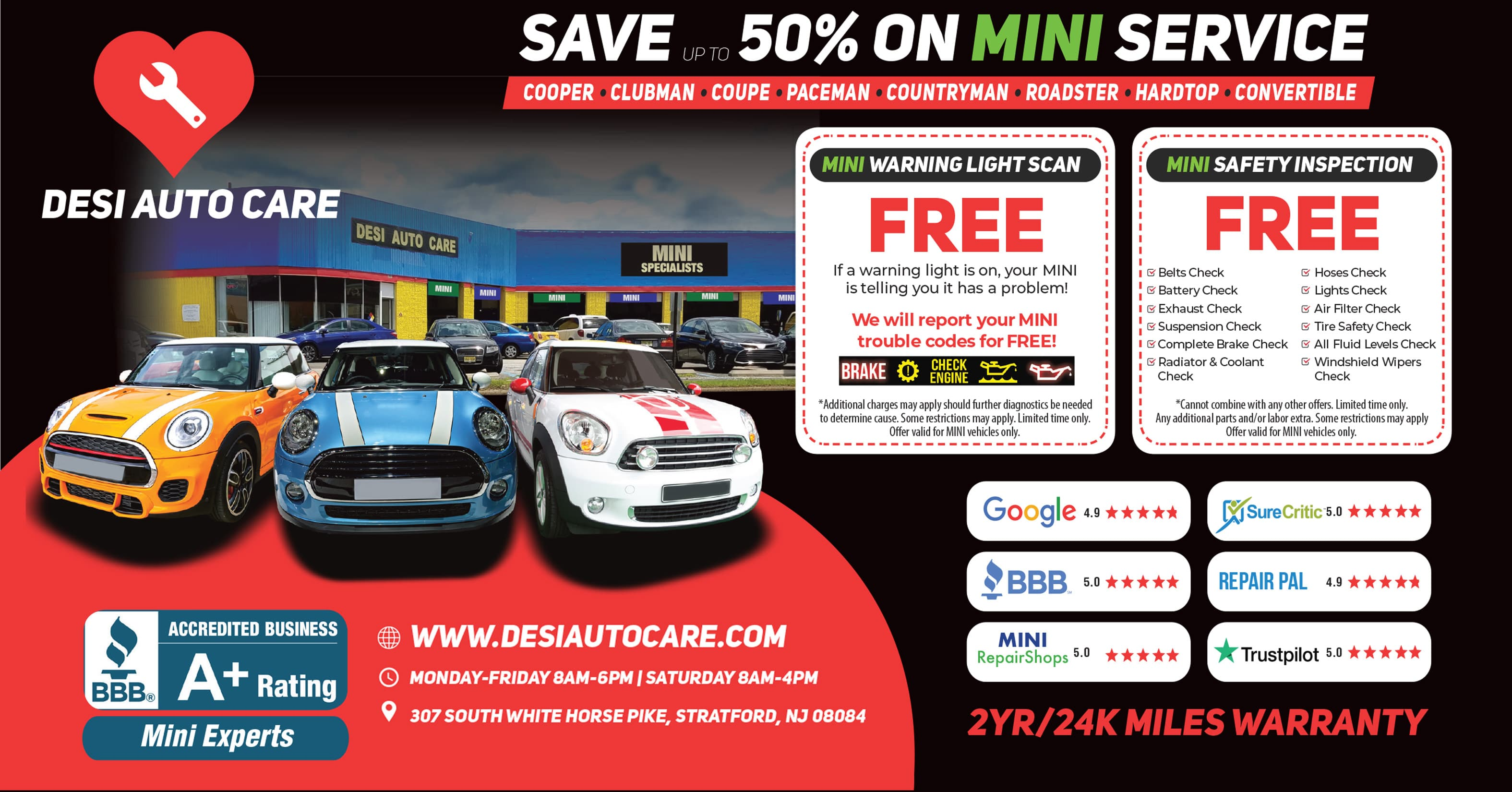 MINI Services 1 | Desi Auto Care